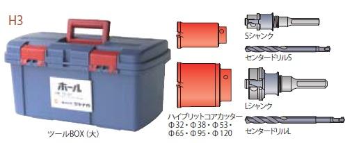 (キャッシュレス5%還元)ミヤナガ H3R コア給水キット (SDSシャンクキット)