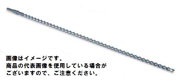 ミヤナガ HEX25080 六角軸超ロングビット 法面工事用 25.0×800