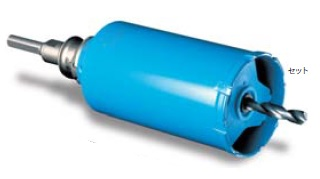(キャッシュレス5%還元)ミヤナガ PCGW95R ガルバウッドコアドリル セット SDSプラスシャンク 95×130