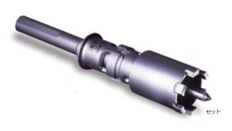 (キャッシュレス5%還元)ミヤナガ PCPVD32 瓦用ダイヤコアドリル ストレートセット 32.0mm