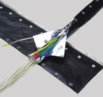 (キャッシュレス5%還元)ジャッピー JAPPY JNST-40H ノイズシールドチューブ スナップボタンタイプ (25m)
