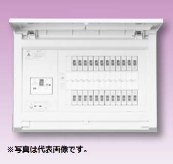 (キャッシュレス5%還元)テンパール MAG3618 スタンダード住宅用分電盤 リミッタースペースなし 扉付 18+0 60A