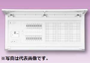 (キャッシュレス5%還元)テンパール MAG36222W スタンダード住宅用分電盤 リミッタースペースなし 扉付 22+2 60A