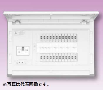 (キャッシュレス5%還元)テンパール MAG37122F スタンダード住宅用分電盤 リミッタースペースなし 扉付 12+2 75A