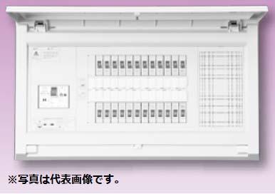 (キャッシュレス5%還元)テンパール MAG37222P スタンダード住宅用分電盤 リミッタースペースなし 扉付 22+2 75A