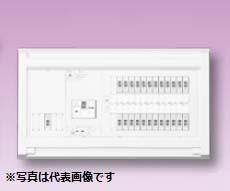 (キャッシュレス5%還元)テンパール YAG310182IB2 オール電化対応住宅用分電盤 リミッタースペースなし 扉なし 18+2 100A