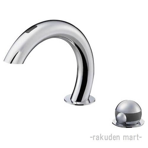 (キャッシュレス5%還元)三栄水栓 SANEI EK5030-13 サーモ付自動洗面混合栓 洗面所用