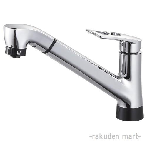 (キャッシュレス5%還元)三栄水栓 SANEI EK87121E-13 シングル混合栓(タッチ式) キッチン用