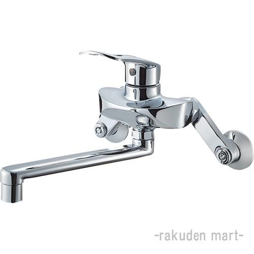 (キャッシュレス5%還元)三栄水栓 SANEI K1712E2K-13 シングル混合栓 キッチン用