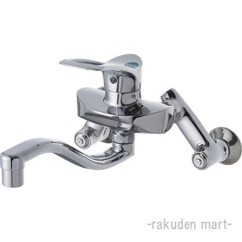 (キャッシュレス5%還元)三栄水栓 SANEI K1712EAK-3U-13 シングル混合栓 キッチン用