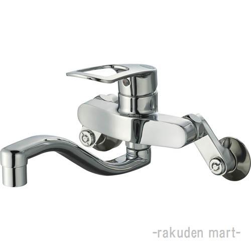 (キャッシュレス5%還元)三栄水栓 SANEI K17CEA-13 シングル混合栓 キッチン用