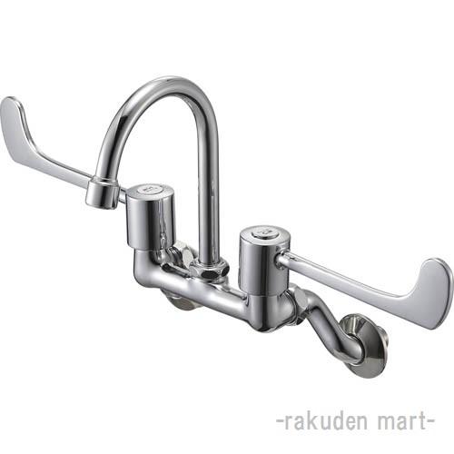 (キャッシュレス5%還元)三栄水栓 SANEI K211H-1-13 ツーバルブ混合栓 バスルーム用