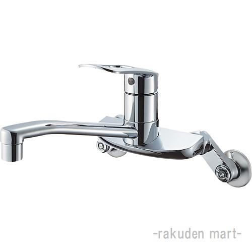 (キャッシュレス5%還元)三栄水栓 SANEI K2710E-13 シングル混合栓 キッチン用
