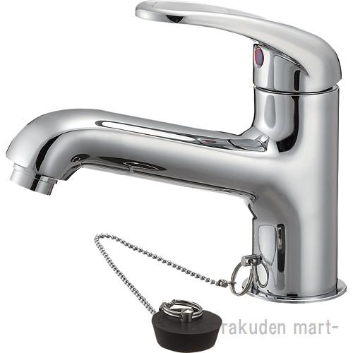 (キャッシュレス5%還元)三栄水栓 SANEI K4710JV-13 シングルワンホール洗面混合栓 洗面所用