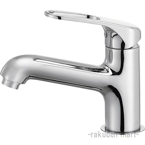 (キャッシュレス5%還元)三栄水栓 SANEI K4710NJK-U-13 シングルワンホール洗面混合栓(省施工ナット付) 洗面所用