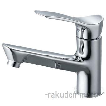 (キャッシュレス5%還元)三栄水栓 SANEI K4712NJK-13 シングルワンホール洗面混合栓 洗面所用
