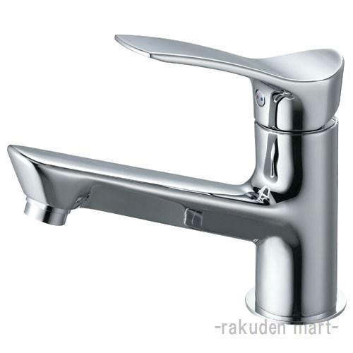 (キャッシュレス5%還元)三栄水栓 SANEI K4712NJV-13 シングルワンホール洗面混合栓 洗面所用