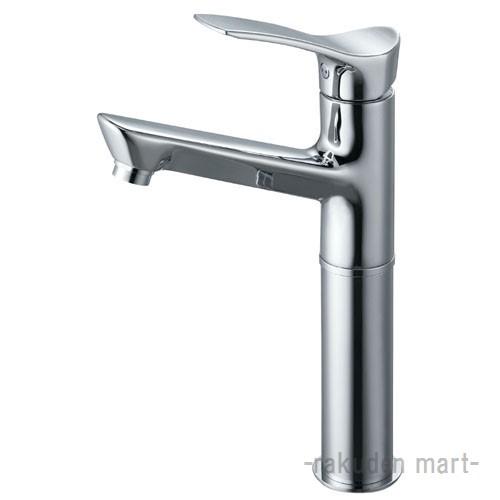 (キャッシュレス5%還元)三栄水栓 SANEI K4712NJV-2T-13 シングルワンホール洗面混合栓 洗面所用