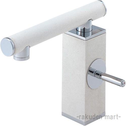 (キャッシュレス5%還元)三栄水栓 SANEI K4730JV-JW-13 シングルワンホール洗面混合栓 洗面所用