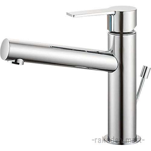 (キャッシュレス5%還元)三栄水栓 SANEI K4750PV-13 シングルワンホール洗面混合栓 洗面所用