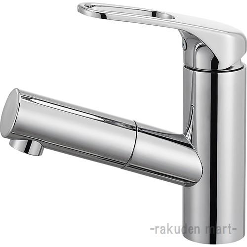 (キャッシュレス5%還元)三栄水栓 SANEI K47531JV-U-13 シングルワンホール洗面混合栓(省施工ナット付) 洗面所用