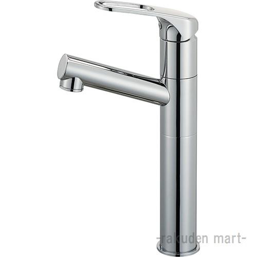 (キャッシュレス5%還元)三栄水栓 SANEI K475NJKZ-2TU-13 シングルワンホール洗面混合栓(省施工ナット付) 洗面所用