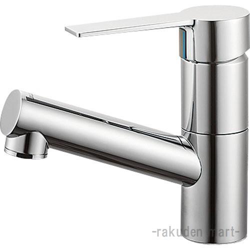 (キャッシュレス5%還元)三栄水栓 SANEI K475NJV-1-13 シングルワンホール洗面混合栓 洗面所用