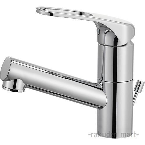 (キャッシュレス5%還元)三栄水栓 SANEI K475PJK-U-13 シングルワンホール洗面混合栓(省施工ナット付) 洗面所用
