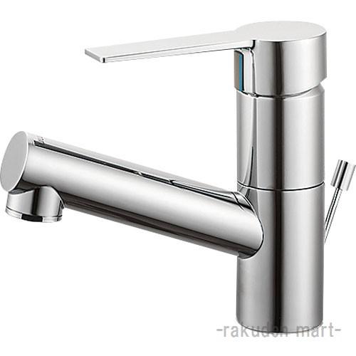 (キャッシュレス5%還元)三栄水栓 SANEI K475PJV-1-13 シングルワンホール洗面混合栓 洗面所用