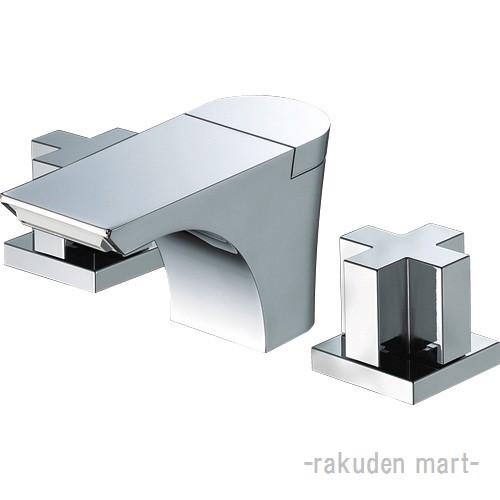 (キャッシュレス5%還元)三栄水栓 SANEI K5580P-13 ツーバルブ洗面混合栓 洗面所用