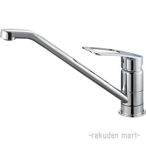 (キャッシュレス5%還元)三栄水栓 SANEI K87110ETJV-13 シングルワンホール混合栓 キッチン用