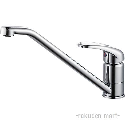 (キャッシュレス5%還元)三栄水栓 SANEI K87110JK-13 シングルワンホール混合栓 キッチン用