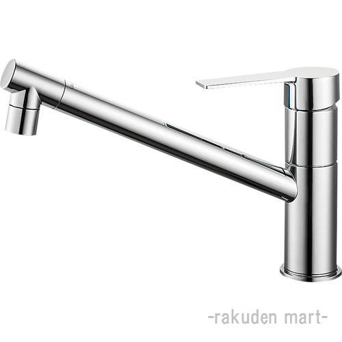 (キャッシュレス5%還元)三栄水栓 SANEI K875JDVZ-1-13 シングルワンホール混合栓 キッチン用