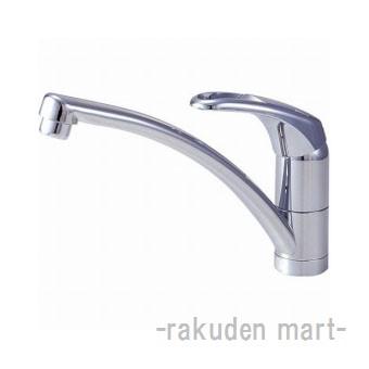 (キャッシュレス5%還元)三栄水栓 SANEI K876TJK-13 シングルワンホール混合栓 キッチン用