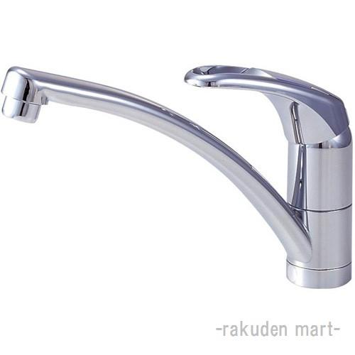 (キャッシュレス5%還元)三栄水栓 SANEI K876TJV-13 シングルワンホール混合栓 キッチン用