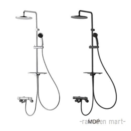 (キャッシュレス5%還元)三栄水栓 SANEI SK18520-2S1-MDP-13 サーモシャワー混合栓 URBAN TOWER バスルーム用