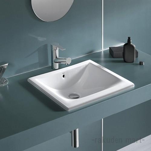 (キャッシュレス5%還元)三栄水栓 SANEI SR327114-W 洗面器 洗面用