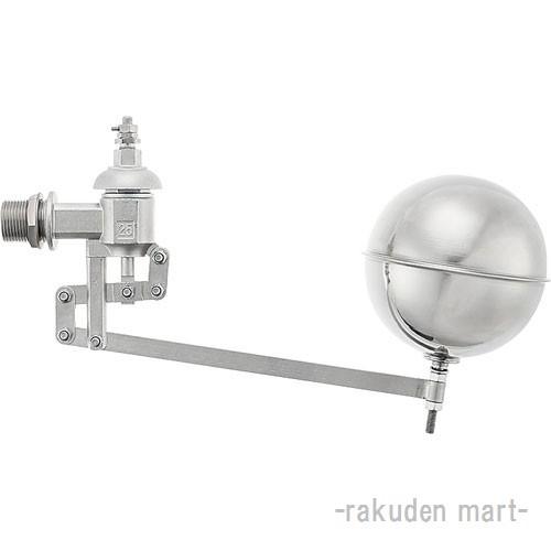 (キャッシュレス5%還元)三栄水栓 SANEI V425-40 複式ステンレスボールタップ