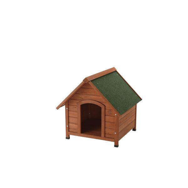 犬小屋 屋外 天然木製 リッチェル 木製犬舎 700 ( 小型犬 中型犬 )