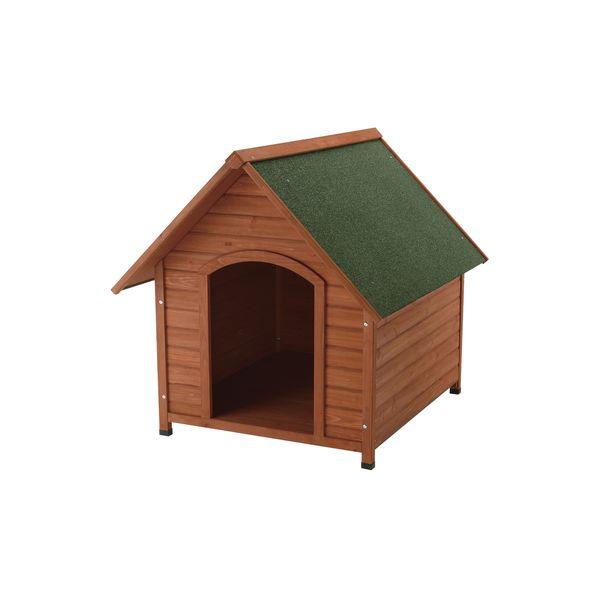 犬小屋 屋外 天然木製 リッチェル 木製犬舎 940 ( 小型犬 中型犬 大型犬 )