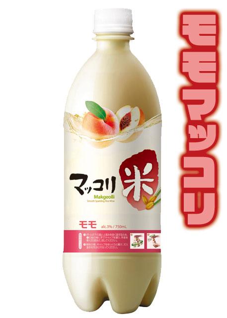 お酒>麹醇堂 米マッコリ(桃)