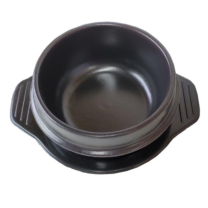 自宅で韓国気分 爆売りセール開催中 チゲ用トゥッペギ OUTLET SALE 土鍋 直径14cm×1個 常温便 ※フタなし メラミン製トレー付き クール冷蔵便可