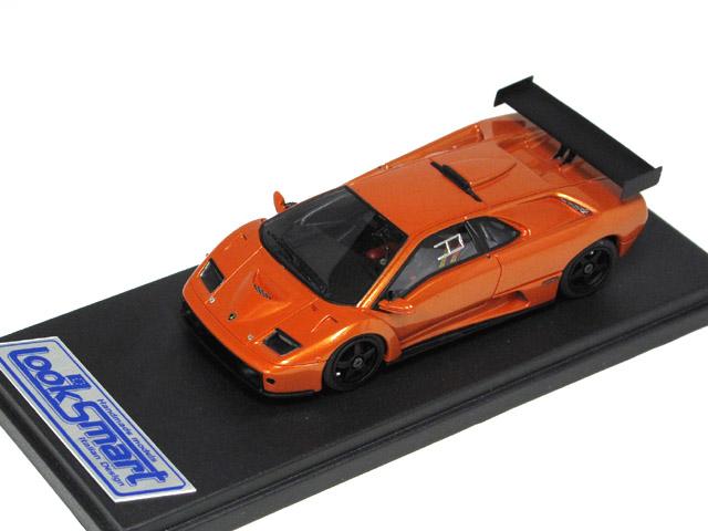 LOOKSMART(ルックスマート) 1/43完成品 LS337B ランボルギーニ ディアブロ GTR 1999 Met.Orange