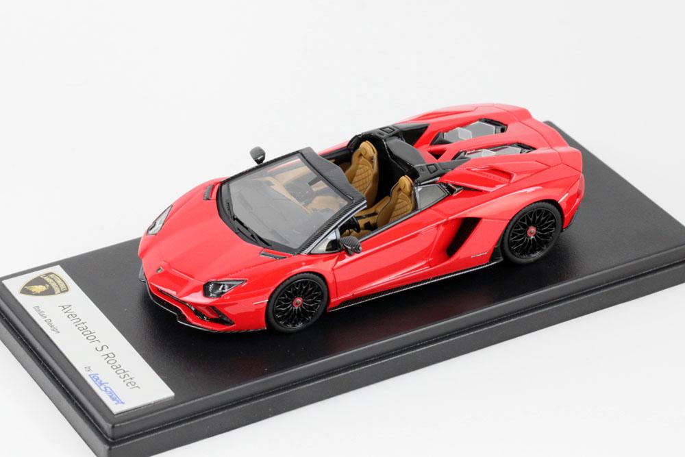 LOOKSMART(ルックスマート) 1/43完成品 LS482C ランボルギーニ アヴェンタドール S ロードスター Rosso Mars (パールレッド)