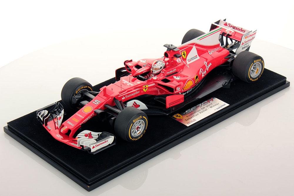 LOOKSMART(ルックスマート) LS18F107 1/18 フェラーリ SF70-H Winner Australian GP 2017 S.Vettel