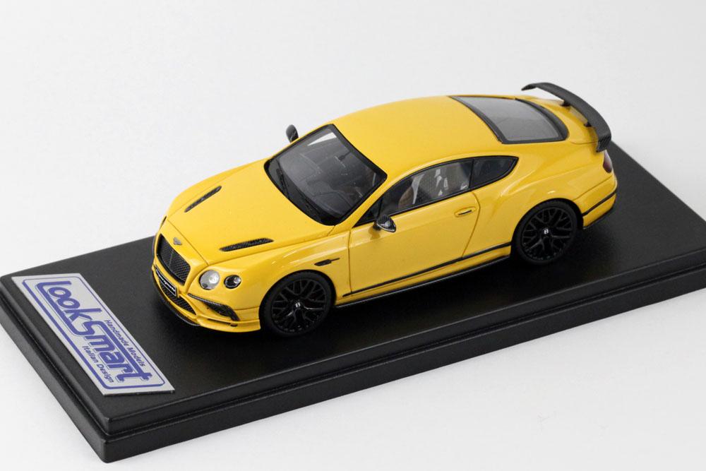 LOOKSMART(ルックスマート) 1/43完成品 LSBT12C ベントレー Continental Supersports Monaco Yellow
