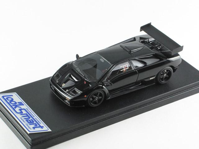 LOOKSMART(ルックスマート) 1/43完成品 LS337RACb ランボルギーニ Diablo GTR 1999 Black 25台限定