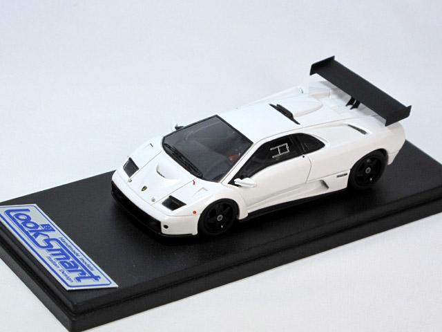 LOOKSMART(ルックスマート) 1/43完成品 LS337RACw ランボルギーニ Diablo GTR 1999 Pearl White 25台限定