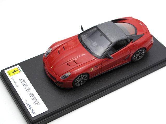 LOOKSMART LS369A フェラーリ 599 GTO Rosso Corsa / Grigio Silverstone Matt
