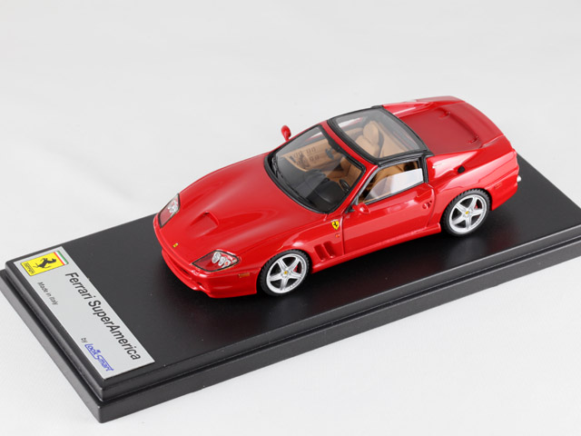 LOOKSMART LS126a フェラーリ SuperAmerica Hard-Top Red